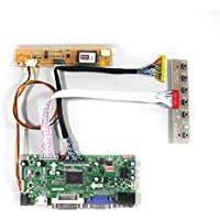 VSDISPLAY HDMI VGA DVI Audio LCD Driver Board For 17 LP171WU1 LTN170U2 1920x1200 1CCFL 30Pin LCD Panel