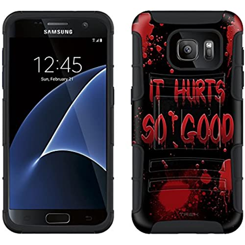 Samsung Galaxy S7 Armor Hybrid Case It Hurts Soo Good on Black 2 Piece Case with Holster for Samsung Galaxy S7 Sales