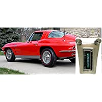 1963-1967 Chevrolet Corvette USA-630 II High Power 300 watt AM FM Car Stereo/Radio with iPod Docking Cable