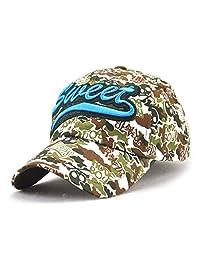 Roffatide Women's Fancy Colorful Lettered Baseball Cap Street Style Dad Hat Strapback
