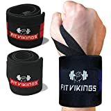 """Wrist Wraps Weightlifting - 18"""" Professional Grade"""