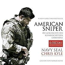 American Sniper: Die Geschichte des Scharfschützen Chris Kyle (       ABRIDGED) by Chris Kyle, Scott McEwen, Jim DeFelice Narrated by Roman Roth