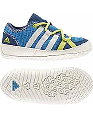 Kids Baby Boys Boat Lace (Infant/Toddler) Solar Blue/Chalk/Bahia Glow 2 Infant M