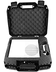 Protective Travel Carry Case for Xbox One S and Power Cables - Specially Designed Padded Foam Interior for Xbox ONE S 500GB Console System and Heavy Duty Rugged Exterior