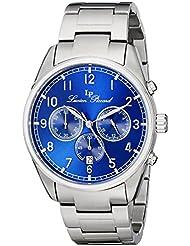 Lucien Piccard Mens LP-10588-33 Moderna Stainless Steel Watch