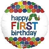 Happy 1st Birthday Balloon The Very Hungry
