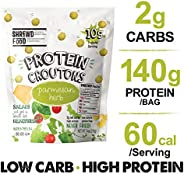 Shrewd Food Protein Puffs, Low Carb Sweet and Savory Snack, High Protein Crunch, Crispy Protein Snack, Soy Fre