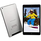 NuVision 8-inch Full HD 2GB memory/32GB eMMC Windows 10 Signature Edition Tablet (Color: Silver)