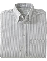 Edwards Garment Men's Performance Short Sleeve Wrinkle Resistant Oxford Shirt