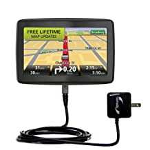 Rapid Wall Home AC Charger for the TomTom VIA 1535T 1535TM Go LIVE - uses Gomadic TipExchange Technology