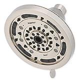 Oxygenics Burst Fixed Shower Head in Brushed Nickel