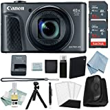 Canon Powershot SX730 HS Bundle (Black) + Advanced Accessory Kit - Including EVERYTHING You Need To Get Started
