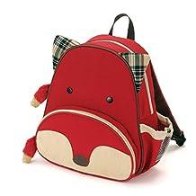 Skip Hop Zoo Pack Little Kid & Toddler Backpack, Ferguson Fox