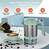 HadinEEon 4 in 1 Magnetic Milk Frother, Non-Stick