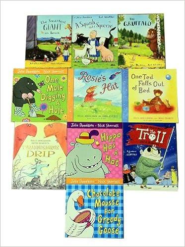 Julia Donaldson The Gruffalo Pack Set, 8 Books, RRP: £49.90 Zog ...