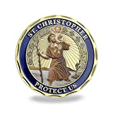 Patron Saint of Travelers Prayer Commemorative Coin