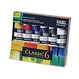 Liquitex 2-Ounce Heavy Body Acrylic Paint, 6-Pack, Classic 6