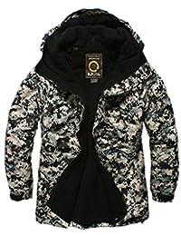 SOUTH PLAY Mens Premium Ski SnowBoard Wear Jacket Jumper ACU BLACK