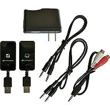 Audioengine W3 Wireless Audio Adapter , Black