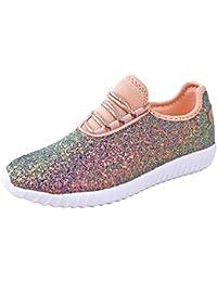 Allison Womens Sneakers | Glitter Shoes for Women |...
