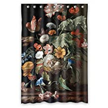 ElenaHarper The Famous Classic Art Painting Flowers Blossoms Valentine Day Shower Curtains Of Polyester Width X Height / 48 X 72 Inches / W * H 120 By 180 Cm Decoration Gift For Mother Wife Boys Relativ