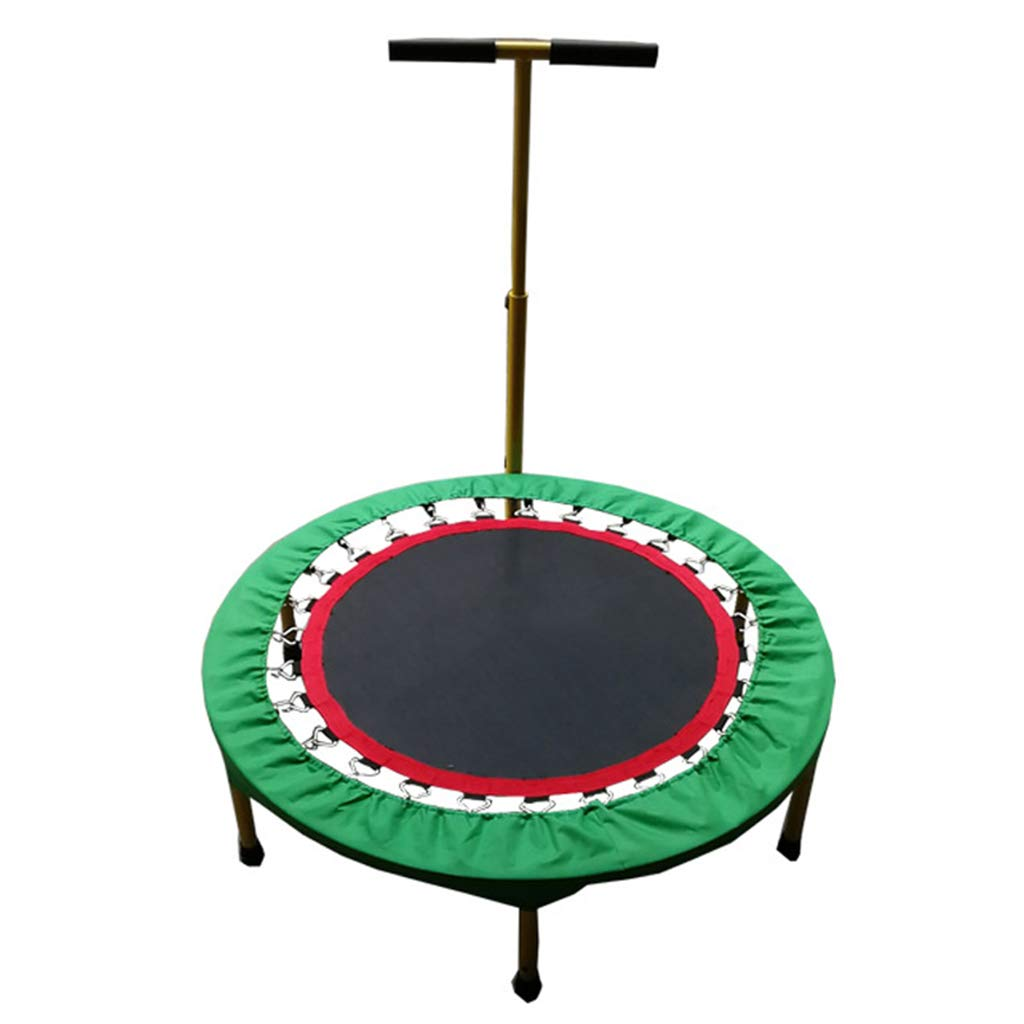 Trampoline Body Sculpture Aerobic Bouncer Home Bungee Bed with Handle Gym Sports Equipment Elasticity Lose Weigh Slimming for Outdoor and Indoor Use