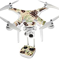 Skin For DJI Phantom 3 Professional – Pine Collage | MightySkins Protective, Durable, and Unique Vinyl Decal wrap cover | Easy To Apply, Remove, and Change Styles | Made in the USA