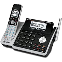 AT&T TL88102 Cordless Digital Answering System, Base and 1 Handset