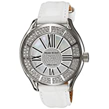 Marc Ecko Men's The Tiani Leather Strap Watch Mother-Of-Pearl E15507G1