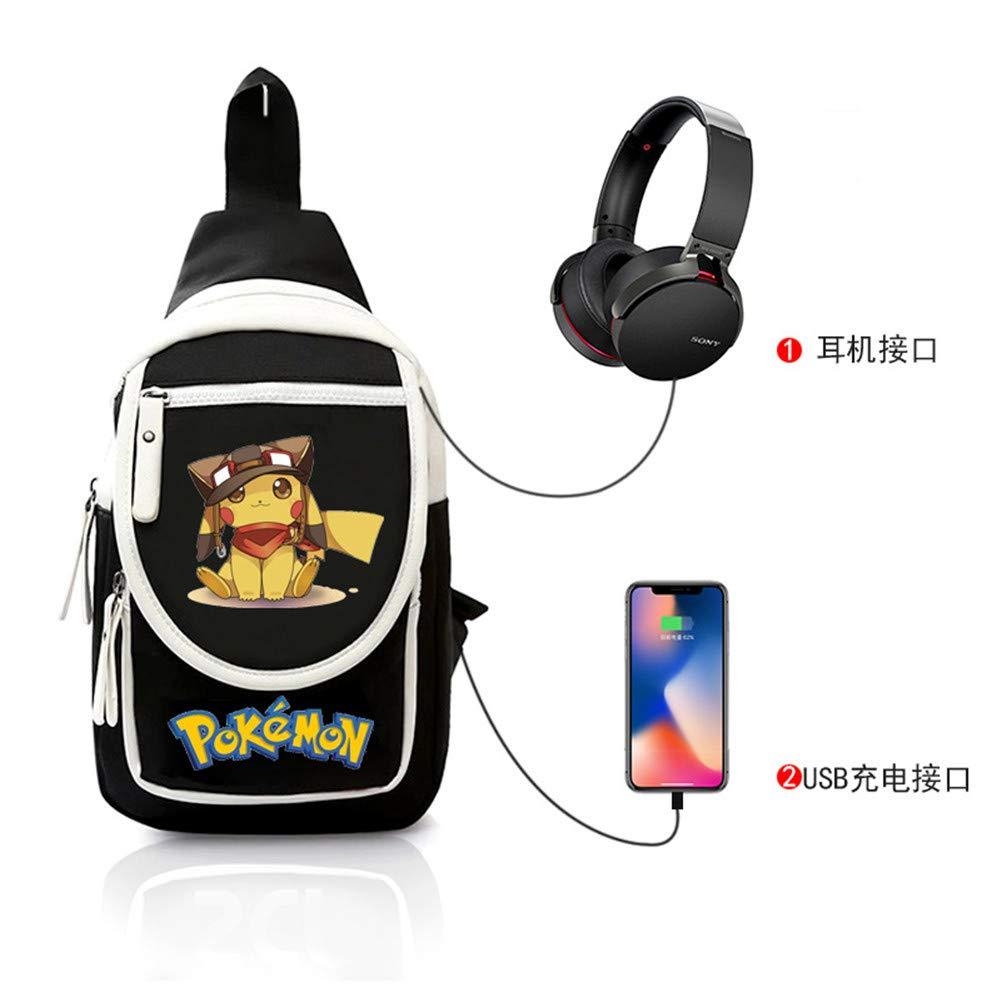 Brusttasche Sling Rucksack Schultertasche Brusttaschen Brusttaschen Brusttaschen für Damen und Herren Anime Daypack Sporttasche B07PD2WV84 Daypacks Mode-Muster 1d22aa