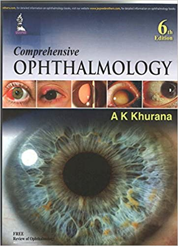 khurana ophthalmology textbook