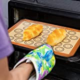 2 Baking Mats - Silicone, Non-Stick, Food Safe