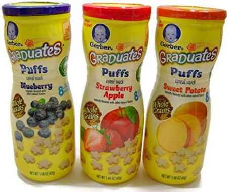 Baby & Toddler Snacks: Gerber Puffs