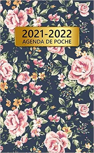 2021 2022 Agenda De Poche: 24 Mois Calendrier Mensuel | Joli