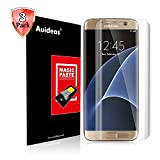 Samsung Galaxy S6 Edge Screen Protector [3D Full Coverage],Auideas[3-Pack] [Anti-Bubble] Edge to Edge PET Screen Protector for Samsung Galaxy S6 Edge(HD Clear) [Lifetime Warranty]