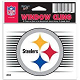 Pittsburgh Steelers NFL 3x3 Static Window Cling Decal