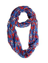 MLB Women's Toronto Blue Jays Rayon Infiniti Fashion Scarf (Blue Jersey)