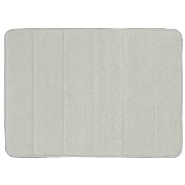 Mohawk Home Memory Foam Bath Rug, 17 by 24-Inch, Pebble