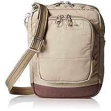 PacSafe Citysafe LS75 Anti-Theft Cross-Body Travel Bag, Rosemary