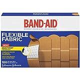 BAND-AID 4444 Flexible Fabric Adhesive Bandages-1 x 3- 100/Box
