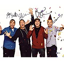 THE IMPRACTICAL JOKERS FULL GROUP CAST SIGNED 11x14 PHOTO RARE BECKETT BAS LOA