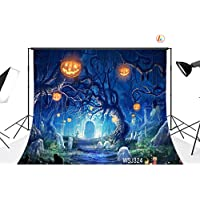 LB 7x5ft Halloween Vinyl Photography Backdrop Customized Photo Background Studio Prop WSJ324