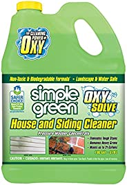 Oxy Solve House and Siding Pressure Washer Cleaner - Removes Stains from Mold & Mildew on Vinyl, Aluminum,