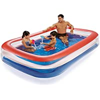Summer Waves Play Day Color Transparent Family Pool