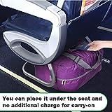Wandf Foldable Travel Duffel Bag Luggage Sports Gym