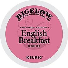 Bigelow Keurig Single-Serve K-Cup Pods, English Breakfast Black Tea, 72 Count (6 boxes of 12 Pods)