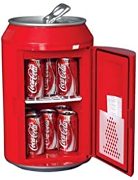 Coca Cola CC10G 12-Can Capacity Can Shaped 12V DC Car and 110V AC Cooler,