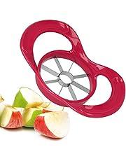 Metaltex 204634 Plastic Apple Slicer/Corer, Red