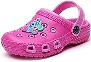 VILOCY Kid's Cute Garden Shoes Cartoon Slides Sandals Clogs Children Beach Sli