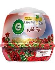 Air Wick Natural Oil Scented Gel, Wild Rose, 180 g